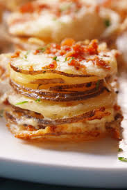thanksgiving delish potato gratin stacks pin best thanksgiving