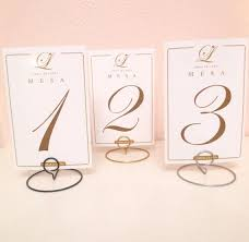 Diy Table Number Holders Diy Table Number Holder Do It Your Self