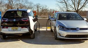 nissan leaf dc fast charge bmw vw and chargepoint to build 100 ccs fast charging sites for