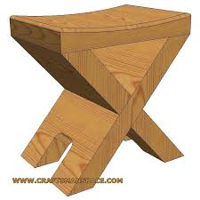 Free Woodworking Plans For Mission Furniture by Stools All Other Types At Woodworkersworkshop Com