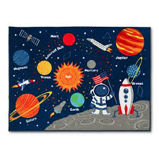 Walmart Kid Rugs Solar System Area Rug 40 X54 Pillowfort Target Attractive With