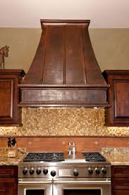 Copper Kitchen Decor by Kitchen How To Install Stove Hoods Design For Cool Kitchen Decor