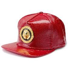 aliexpress buy nyuk new fashion american style gold nyuk new gold pharaoh baseball cap pu leather hip hop