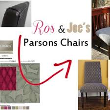 Red Parsons Chairs Dining Room Parson Chairs For Your Dining Chair Idea