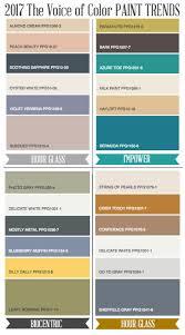 paint colors for 2017 contemporary color palette 2017 sougi me