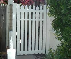 routed picket fence gate u2013 vinyl craft
