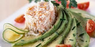 cuisiner le surimi salade avocat et surimi facile et pas cher recette sur cuisine