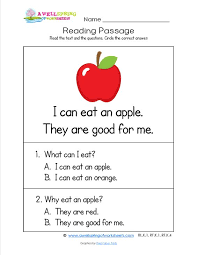 kindergarten reading passage kindergarten reading passages check out these 18 worksheets