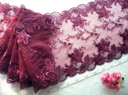 tulle by the yard bridal lace embroidered floral tulle net trim 2 3 4 yards