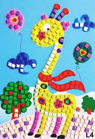 aliexpress com buy 11 patterns kids foam mosaic stickers art