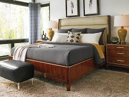 Save Space Bed Upholstered Platform Bed Queen To Save Space And Budget Bedroom