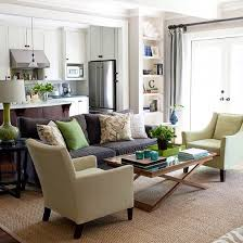 Green Color Schemes For Living Rooms Ways To Decorate With A Brown Sofa