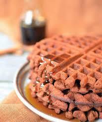 chocolate cinnamon sweet potato waffles the paleo diet blog