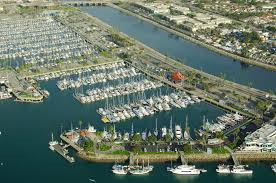 Long Beach Zip Codes Map by Alamitos Bay Long Beach Marina In Long Beach Ca United States
