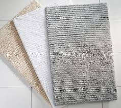 Bathroom Rugs And Mats Bath Rugs U0026 Mats Pottery Barn