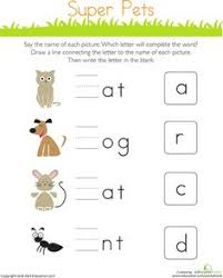 find missing letters free education kindergarten writing and