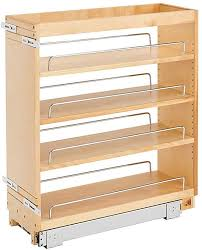 cost to install base cabinets rev a shelf 448 bc 8c 8 inch base cabinet pullout storage organizer with adjustable wood shelves and chrome rails