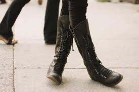 womens combat boots knee high combat boots on the hunt