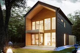 honka vista is a modern log home design that combines warm wooden