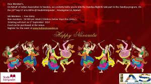 dandiya night 2017 u2013 indian association in sweden