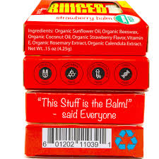 How To Get Usda Certified Usda Certified Organic Strawberry Flavor Lip Balm For Your Lips