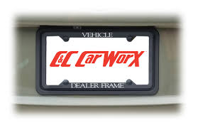 lexus logo front license plate rear license plate frame bracket assembly to universally fit most