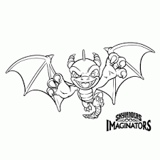 skylanders imaginators coloring pages leuk voor kids