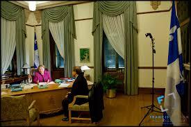 bureau du premier ministre pauline marois en photos portraits et candides en entrevue