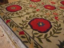 the poppy rug by tibet rug company youtube