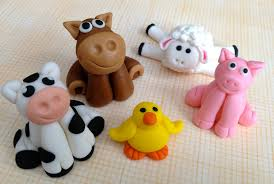 farm cake toppers barnyard polymer clay ideas hacked by theprivat