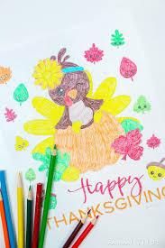 free printable thanksgiving coloring sheet titus