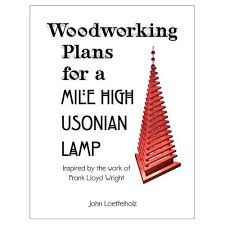 frank lloyd wright woodworking plans furniture u0026 lighting designs