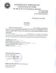 Invitation Letter Us Visa visa invitation letter us template best template collection