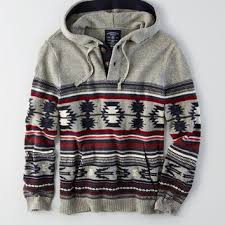 baja sweater mens aeo striped baja hoodie from eagle outfitters