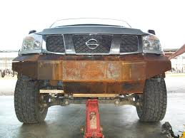 nissan leaf xe qc pics steel bumper nissan titan forum