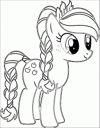 coloring pages pretty pony print spike coloring