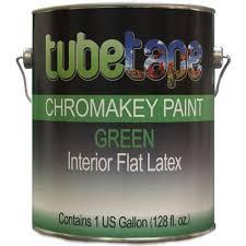 tubetape chromakey paint green complete wall treatment kit