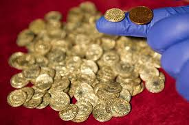 Gold Coins Found In California Backyard From Ancient Coins Worth 1m To A Giant 10 Pound Lump Of Gold The
