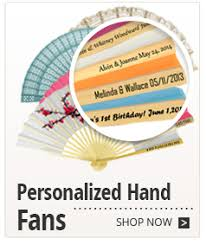 personalized fans for weddings 9 gold paper fans for weddings premium paper stock 10 pack