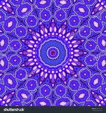 modern floral pattern raster illustration design stock
