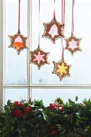 Christmas Decorations For Your Window by Stained Glass Window Biscuits Christmas Decorating Ideas