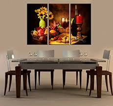 Artwork For Dining Room Grape Wine Paintings Modern Giclee Artwork Wall