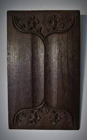 Decorative Wood Wall Panels by Decorative Wooden Wall Panels Gothic Sculpture Oak Corbels