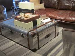 Rustic Coffee Table Trunk Coffee Table Metal Trunk Coffee Table Excellent Within Impressive