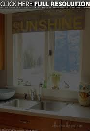 window treatments for kitchen window over sink christmas lights