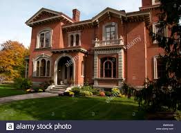 italian style villa in rochester ny usa stock photo royalty free