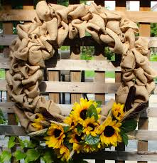 summer wreath summer burlap diy wreath new house new home