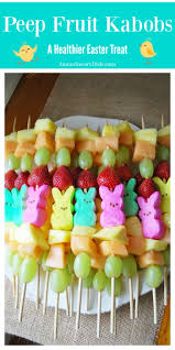 easter marshmallow candy easter peep fruit kabobs for a healthier treat amee s savory dish