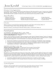 Example Resume by Cover Letter Phd Student
