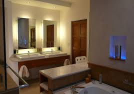 Large Bathroom Mirror With Lights Lighting Bathroom Mirror Bathroom Designs